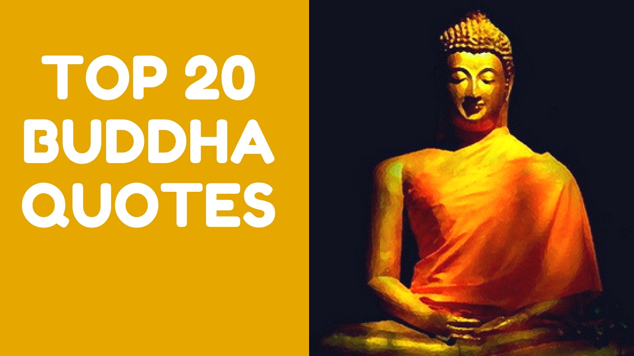 Buddha Quotes | Top 20 Buddha Quotes You Should Read Now